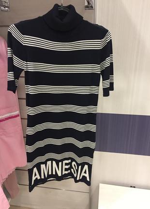 Полосатое платье amn