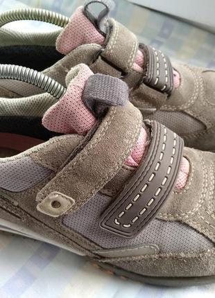 Замшевые кроссовки superfit с системой gore-tex 23 см