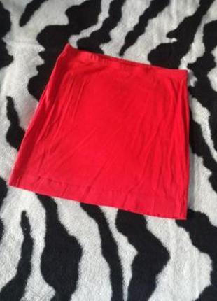 Трикотажная мини юбка h&m