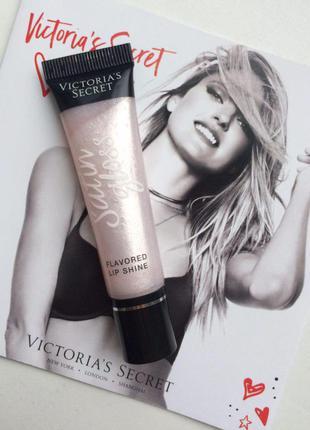 Блеск для губ iced из серии satin gloss от victoria's secret