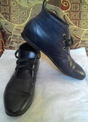 Полу ботинки 43 р. стелька 28.5 см.