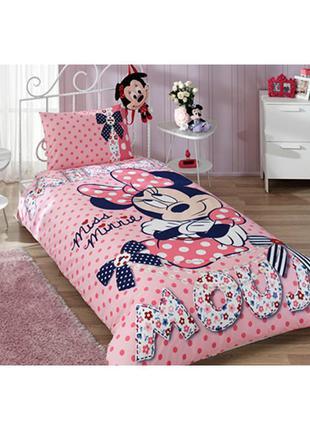 Детская постель минни маус дисней постельное белье tac disney minniе mouse dream