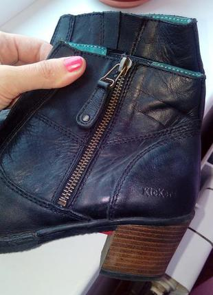 Полуботинки,ботинки демисезон,полностью кожа! kickers