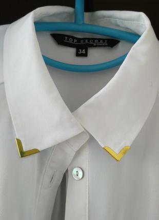 Рубашка фрак, удлиненная рубашка
