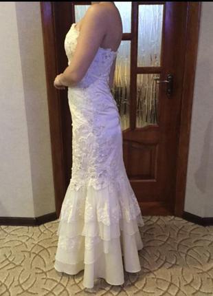 Платье рыбка на свадьбу или выпускной