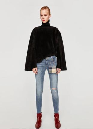 Новые узкие джинсы zara