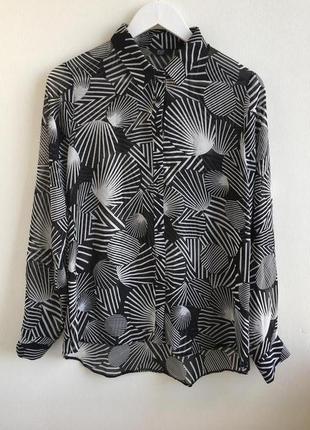 Блуза красивые принт f&f