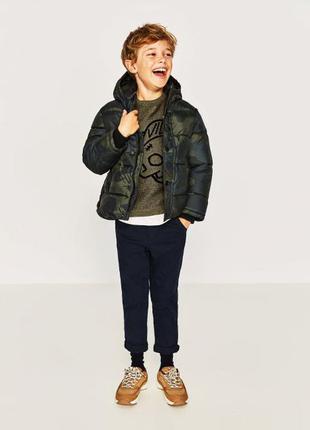Стильная курточка zara для мальчика 5 лет