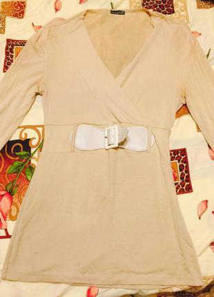 Блуза длинная,минус 75%