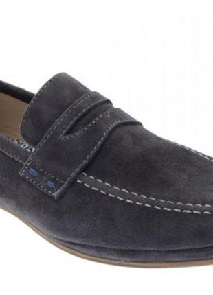 Мужские туфли лоферы freemood оригинал натуральная замша 40-45р