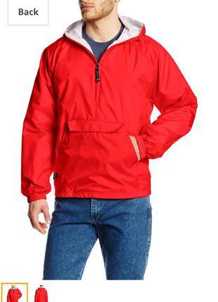 Куртка ветровка ,водостойкая,ветроустойчивая  оригинал -charles river apparel.