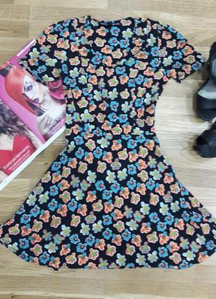 Платье topshop в цветочном принте