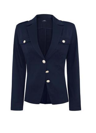 Синий пиджак - без подкладки. стильный также пиджак для школы
