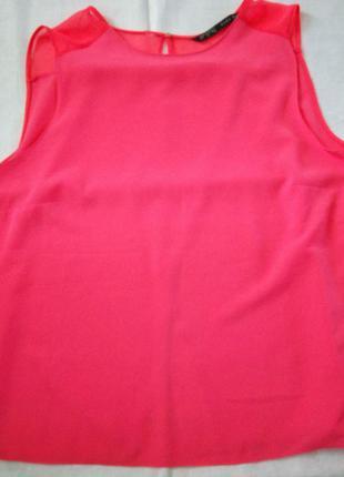 Красивая блуза ззаду на запах zara3