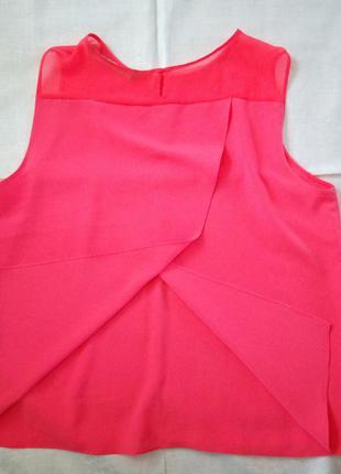 Красивая блуза ззаду на запах zara4