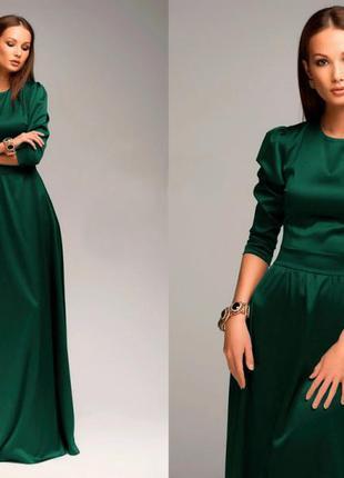 f09b4aed1c4 Вечернее платье изумрудного цвета H M