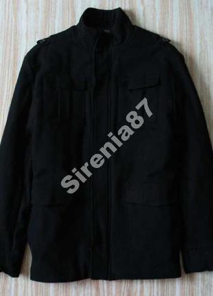 Стильное шерстяное пальто №40 f&f