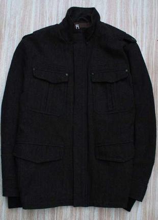 Стильное шерстяное пальто. итальянская шерсть №4