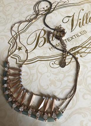 Колье ожерелье кулон accessorize