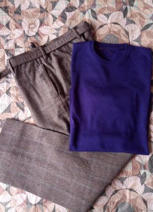 -8% свитер королевский синий