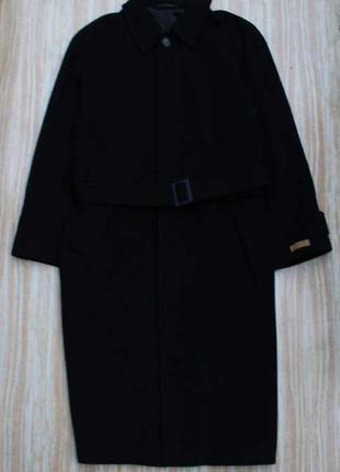Стильное шерстяное пальто №69