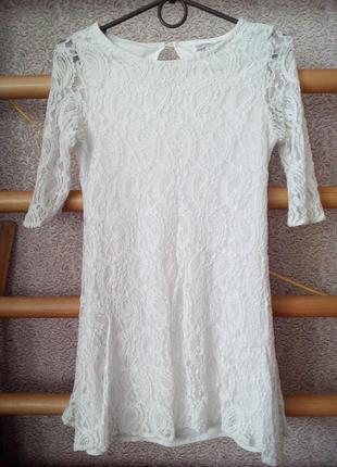 Платье белое glamorous