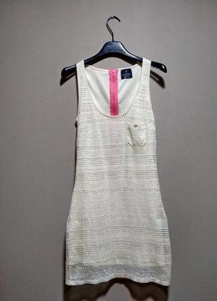 Платье сарафан bershka ажур