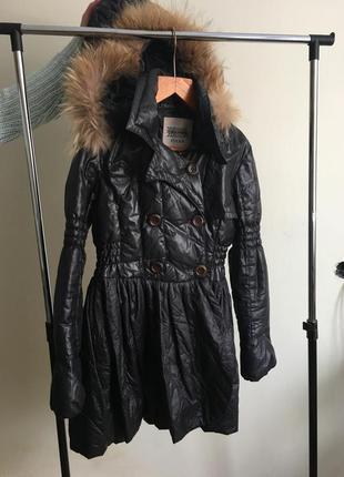 Куртка с баской (европейская зима)