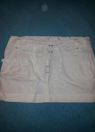 Белая юбочка тонкий хлопок