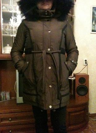Зимнее пальто, холлофайбер