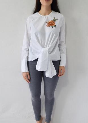 Блузка с нашивкой new look