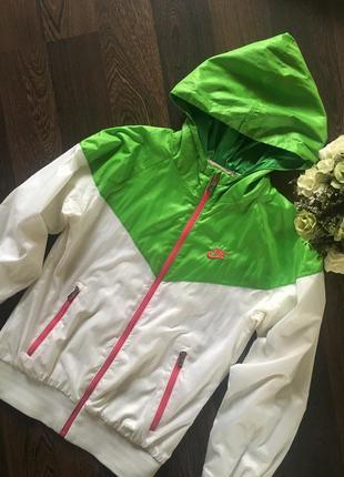 Бомбер ветровка куртка  nike 100%  оригинал