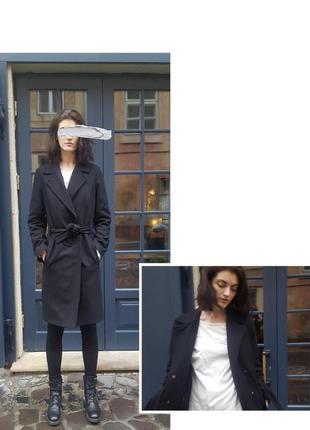 Пальто, теплое  шерстяное пальто chereshnivska