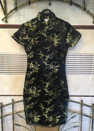 Платье в японском / китайском стиле