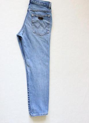 Джинсы бойфренды высокая посадка,мом джинсы wrangler