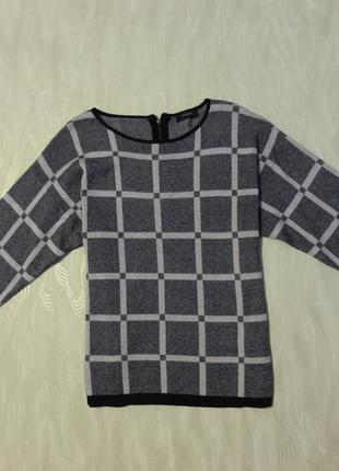 Теплый, мягкий свитер с застежкой молния по спине autograph, р.16