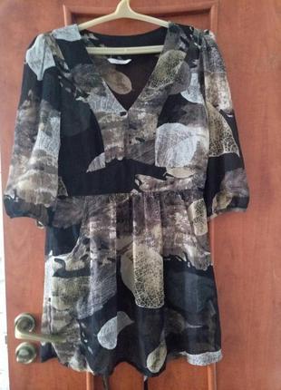 Шифоновая блуза,туника.сток