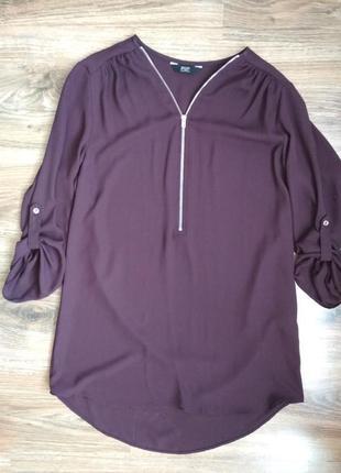 Стильная шифоновая блуза от f&f