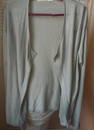Джемпер со скрытыми пуговицами от zara knit