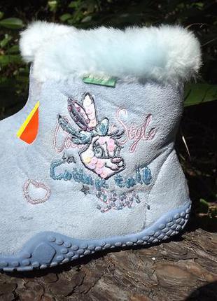 Ботинки для девочки benetton 25 размер