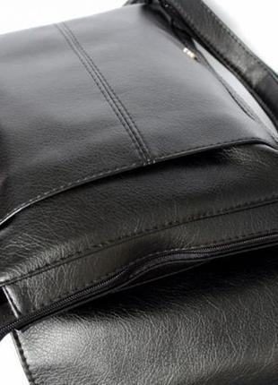 Мужская вместительная сумка формата а-4 под документы отличное качество за разумную цену