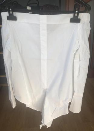 Рубашка mango с открытыми плечами