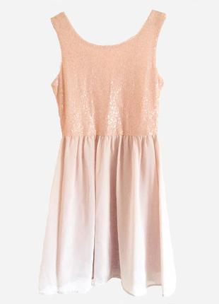 Платье с пайетками vero moda