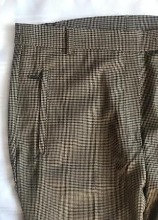 Классические брюки в клетку marks&spencer