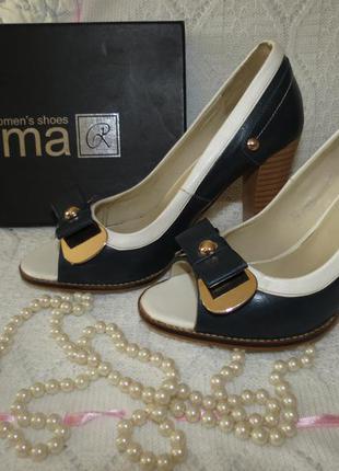 Стильные босоножки туфли rima 37 размера