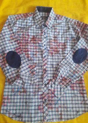 Рубашка companeros хлопок  р.  xxl