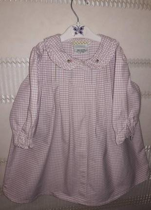 Милое  пышное платье в клеточку turquaz 2-3 года