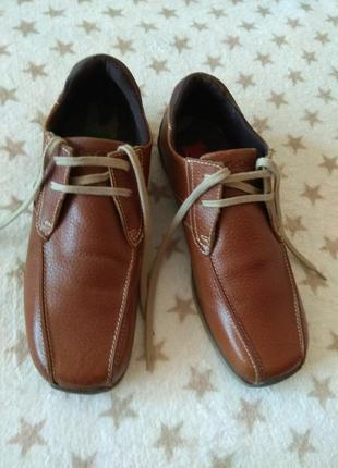Туфли мужские kickers кожаные