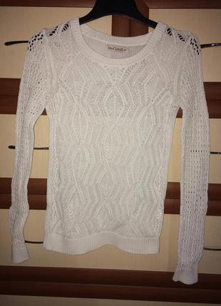 💌милый ажурный свитер sela