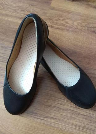 Туфли-балетки женские clarks